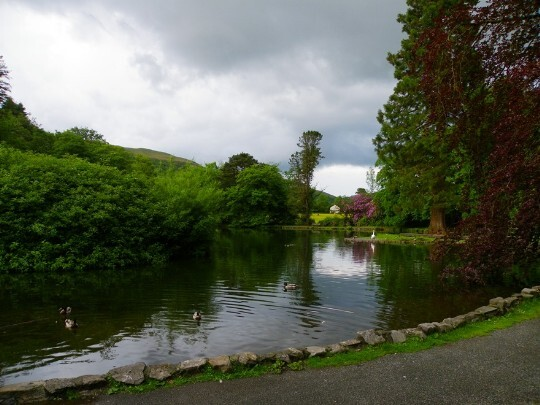 Boating Lake Craig y Nos Country Park