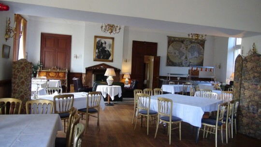 Craig y Nos Castle Wedding Venue the Evening Function Room