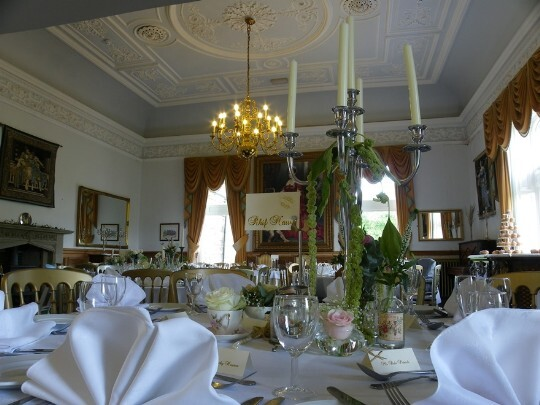 Craig y Nos Castle Wedding Venue main function room and music room