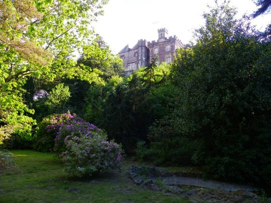 Craig y Nos Castle Wedding Venue South Wales Lower Gardens