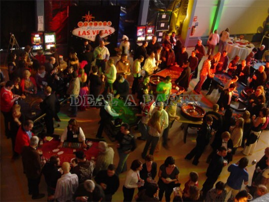 Dial a Party Cardiff Wedding Casino Hire