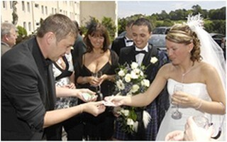 Dorian Michael Magician for Weddings in South Wales
