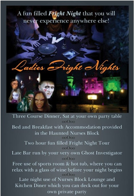 Wedding Venue Swansea, Fright Night Banner