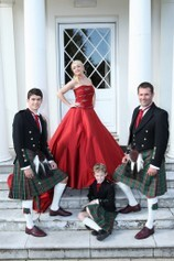 Formal Hire and Welsh Tartan for Weddings in Swansea