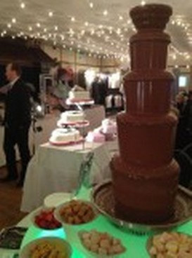 Chocolate Fountains - Weddings in Wales at Craig y Nos Castle