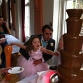 Giant Chocolate Fountain Swansea Weddings