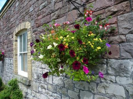 Wedding Venues South Wales - Craig y Nos Castle Theatre Hanging Basket