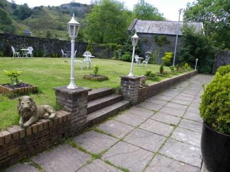Wedding Venues South Wales - Craig y Nos Castle Theatre walled Victorian Gardens