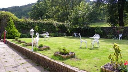 Wedding Venues South Wales - Craig y Nos Castle Victorian Walled Gardens