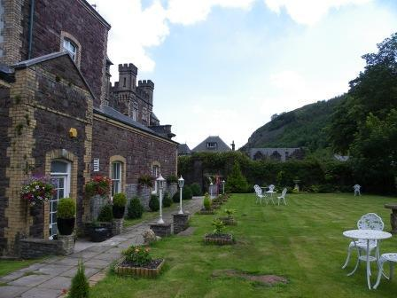 Wedding Venues South Wales - Craig y Nos Castle Theatre Garden