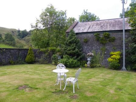 Wedding Venues South Wales - Craig y Nos Castle Theatre garden lawn