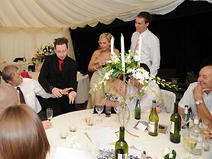 Jason Thomas Close-up Magician for Weddings in South Wales
