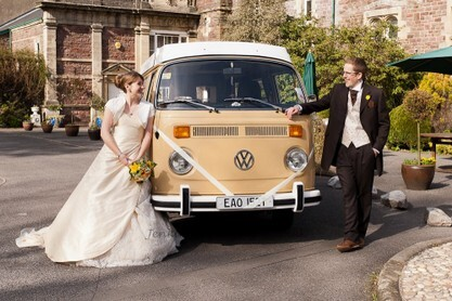 Vokswagon Camper Wedding Car