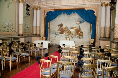 Wedding Venue Swansea, Theatre Ceremony Room Wedding Package