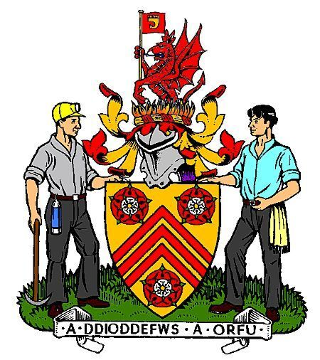 Mid Glamorgan Coat of Arms