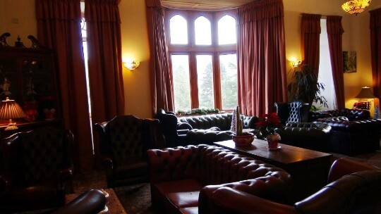 Craig y Nos Castle Wedding Venue Wales Powys the Reception Lounge