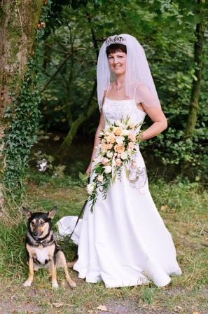 By Patrick Ellis Photography, Bride and Dog