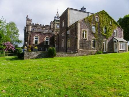 Wedding Venues South Wales - Craig y Nos Castle theatre gardens