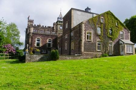 Wedding Venues South Wales - Craig y Nos Castle Gardens behind the theatre