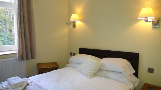 Wedding Venues Wales - Theatre First Floor Flat Bedroom