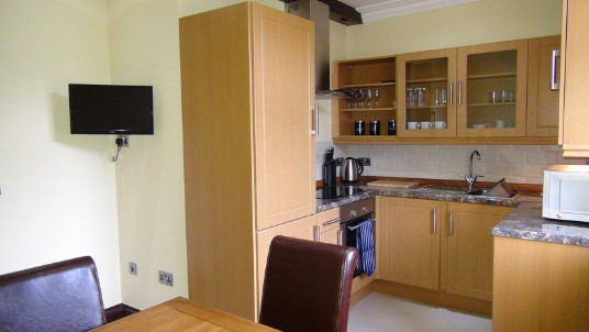 Wedding Venues Wales - Theatre First Floor Flat Kitchen