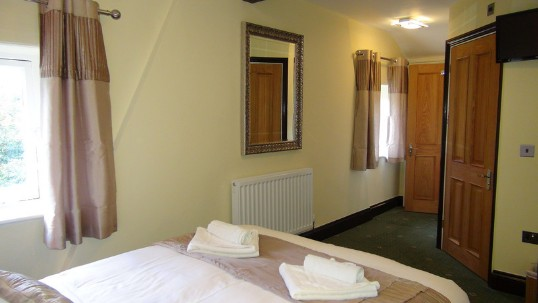 Wedding Venues Wales - Theatre Loft en-suite Bedroom