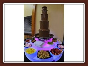 Welsh Chocolate Fountains for Swansea Weddings
